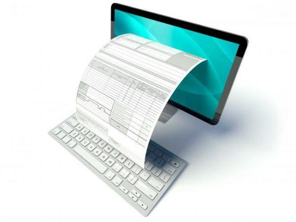 Comment conserver les factures créées électroniquement et transmises par papier