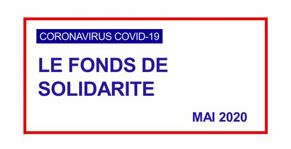Prolongation du fonds de solidarité pour le mois de mai 2020